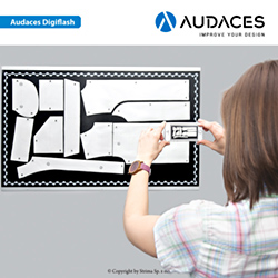 Audaces DigiFlash – фотодигитайзер в комплекте с таблицей – лицензия пользователя