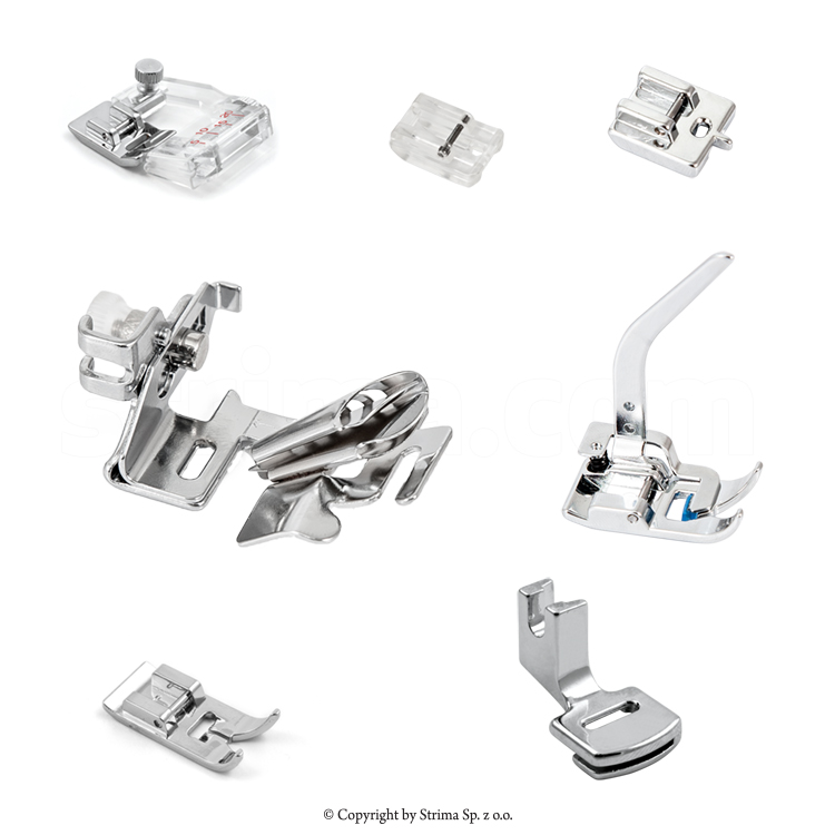 RJ-207-1 - MATIC set of 7 presser feet for household machine