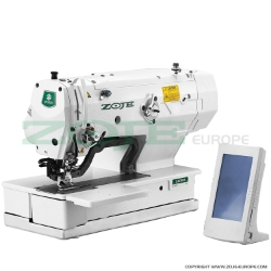 Zoje electronic buttonhole machine - machine head