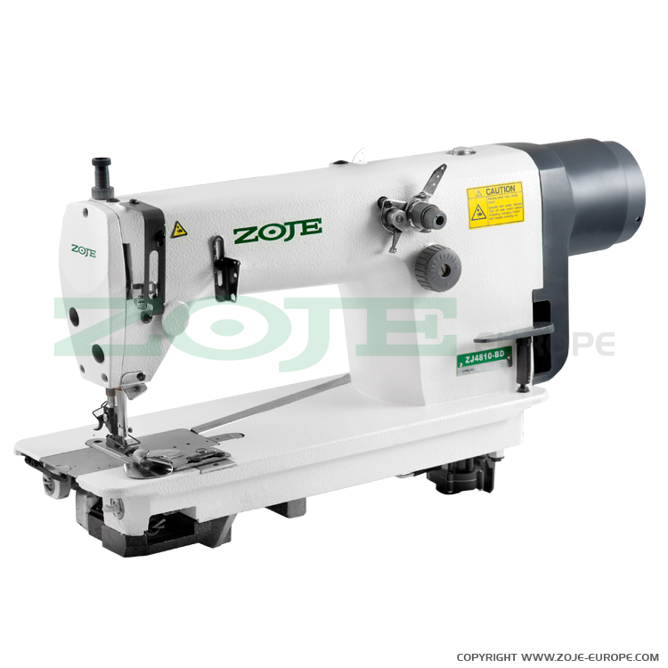 Zoje chainstitch machine with built-in AC Servo motor and needle positioning - machine head