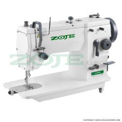 Zoje zigzag machine with energy-saving AC Servo TP550 motor - complete sewing machine
