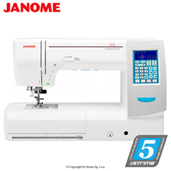 Computerized sewing and quilting machine - JANOME MEMORY CRAFT 8200QC P SE