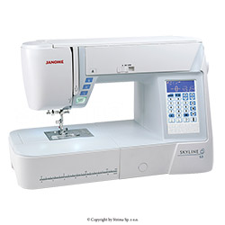 Multifunctional sewing machine, 399 programs