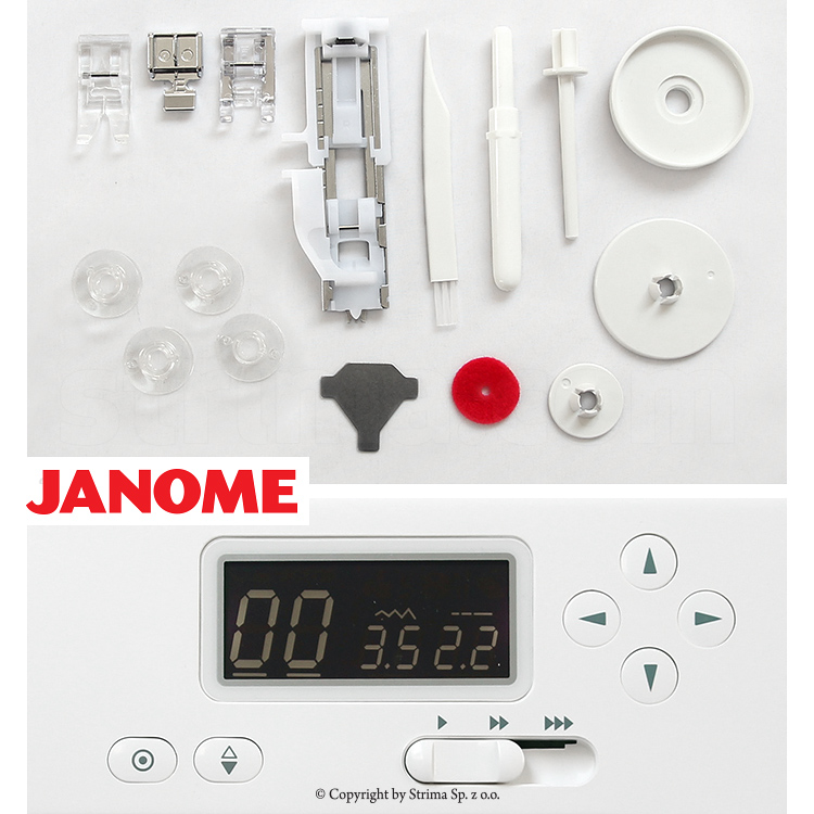 JANOME JUNO E1050 - Computerized sewing machine