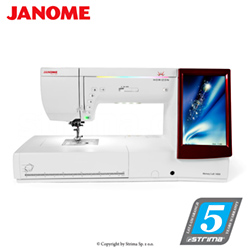 Computerized sewing and embroidering machine - JANOME MEMORY CRAFT 14000 HORIZON