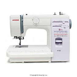 Multifunctional sewing machine - JANOME 419S