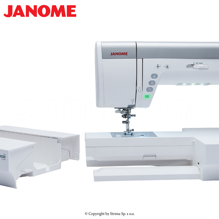 computerized sewing and quilting machine