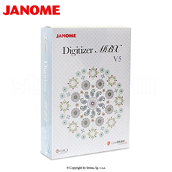 Software for embroidery machine JANOME MB-4