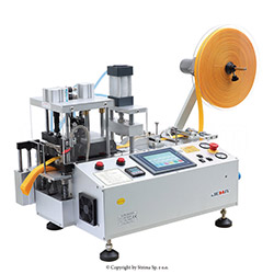 Automatic, multifunction hot & cold knife cutting machine (right angle) with automatic tape feeding