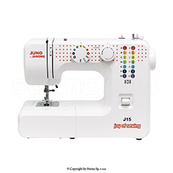 Multifunctional sewing machine - JANOME JUNO J15