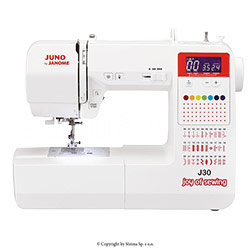 Computerized sewing machine, 30 stitches