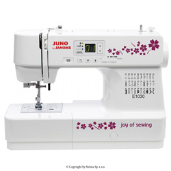 Multifunctional computer controlled sewing machine with built-in 30 stitch programs