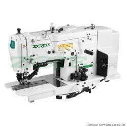 Buttonhole machine with induction motor - complete sewing machine