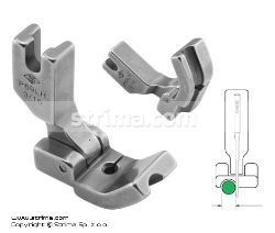 Hinged piping foot, left 4.8mm
