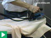 How to iron a blouse - Primula Flex 1242